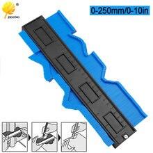 Calibrador de perfil de contorno multifuncional, azulejos laminados, regla de medida de madera moldeadora de bordes, medidor de contorno ABS, duplicador