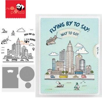 city Metal Cutting Dies and Stamps SScrapbooking Craft Dies Stencil Album Embossing Card Making Die Cut Dies New 2020