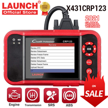 Car-Diagnostic-Tools Airbag Automotive-Scanner SRS Launch X431 Free-Update EOBD OBD2