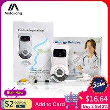 Rinite terapia allergia naso clip sinusite a bassa frequenza cura allevia rinite a bassa frequenza terapia Laser massaggiatore