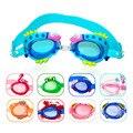 Детские очки для плавания, солнцезащитные очки, противотуманная тренировочная маска с УФ-защитой, детские очки, чехлы, пчела, краб, рыба, Дел...