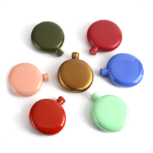 3OZ High Quality Whisky Pot Bottle Hip Flask Flagon Candy color 304 Stainless Steel Portable Drinkware Women's wine pot Outdoors fire maple portable titanium flagon outdoor hip flask camping wine pot jug with cup travel drinkware fmc 1703002