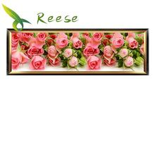 Full Diamond Painting Flowers Bloom Diy Embroidery A Large Rose Picture For The Bedroom, 3 Size