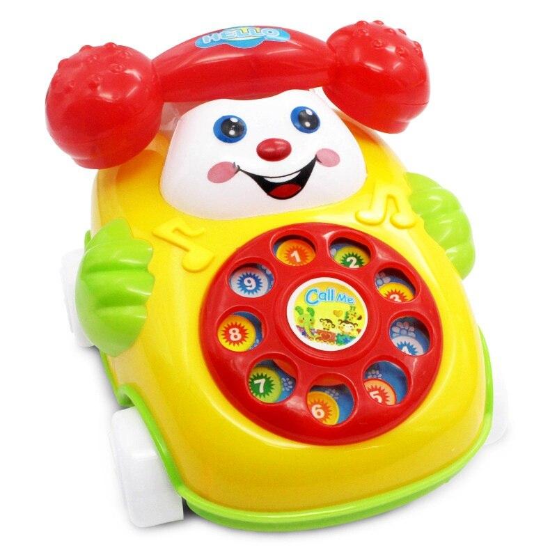 Baby Children Toys Music Cartoon Phone Educational Developmental Kids Boys Girls Birthday Toy Gift