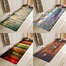 Retro board printing, flannels, absorbent, anti-skid entry mats, bathroom mats, kitchen mats and bedside mats. mats strandberg tuli