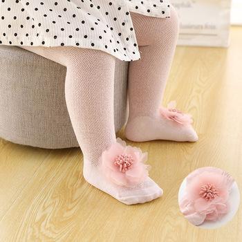 Rajstopy dziecięce bawełniane koronkowe kokardki kwiatowe rajstopy dziecięce ubrania noworodka małe dziewczynki rajstopy letnie siatkowe rajstopy dziecięce pończochy tanie i dobre opinie Jeseca CN (pochodzenie) Lato W wieku 0-6m 7-12m 13-24m 25-36m Dziewczyny COTTON Dobrze pasuje do rozmiaru wybierz swój normalny rozmiar
