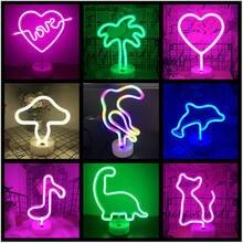 Сексуальный неоновый светильник s цветная настольная лампа светодиодный