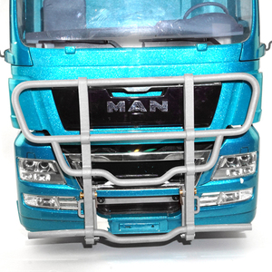 LESU Metal Front Bumper for 1/14 Scale TAMIYA MAN RC Tractor Truck Model(China)