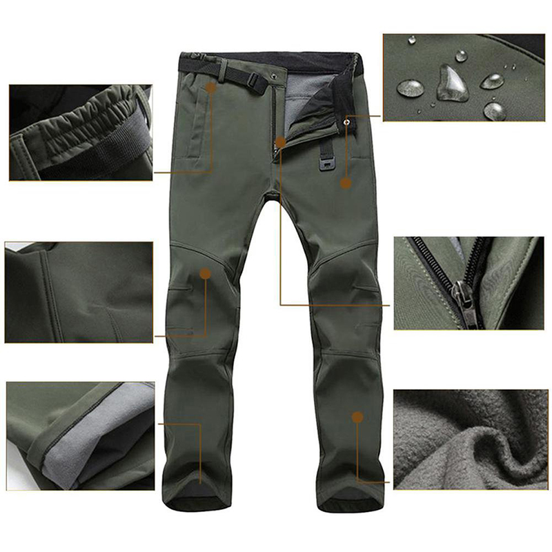 2019 New Women Men Unisex Couple Outdoor Warm Winter Sport Hiking Pants Trousers Plus Size L-3XL Home Furnishing Supplies