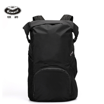 YINJUE foldable backpack large capacity travel outdoor bag super light carrying ergonomics labor-saving waterproof Backpack romix rh30 18l foldable polyester outdoor backpack bag