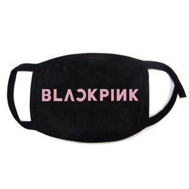 K-POP Blackpink JENNIE JISOO LISA Roseanne Park Fans BLINK Pick Gifts Cotton Face Mask Same Dust Warm Mask Unisex Korean Hip Hop 1