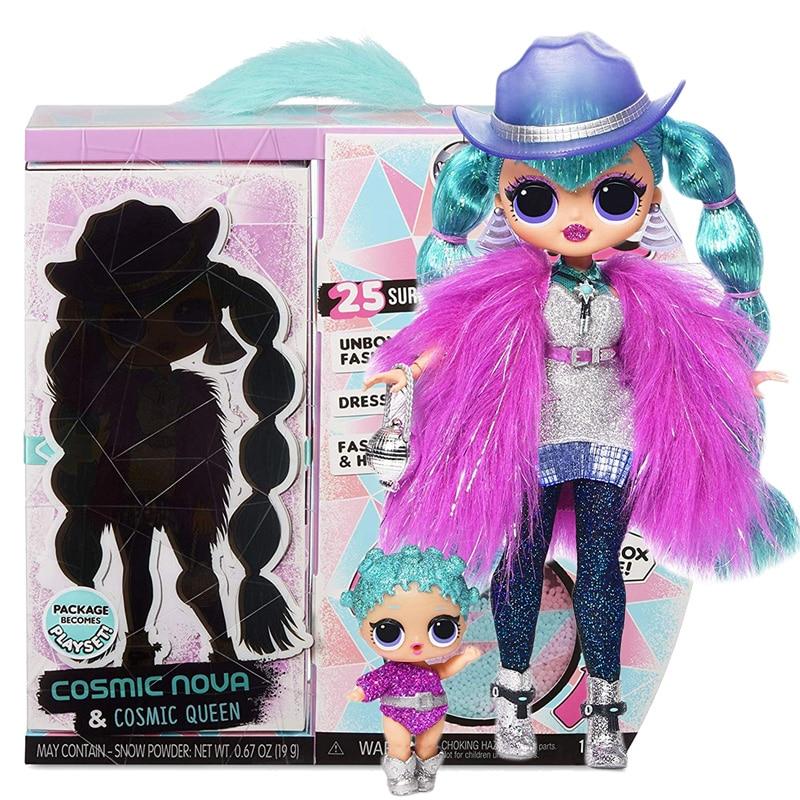 L.O.L Surprise! OMG Winter Disco Cosmic Nova Fashion Doll & Sister LOL Doll