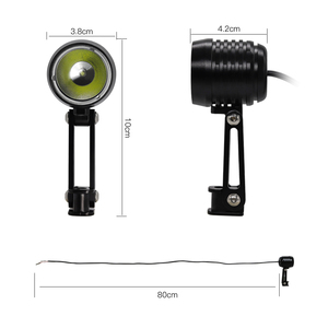 Image 3 - WEXPLORE Elektrische Bike 6V LED Licht für Bafang und TSDZ2 Mitte Antrieb Motor E Bike Scheinwerfer Mit CNC Aluminium gehäuse Ebike Licht