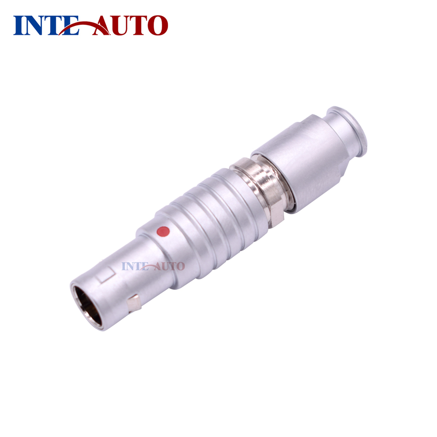 INT-TGC 1B straight cable plug 2 3 4 5 6 7 8 10 12 14 16 pins male connector M12 size two keys alpha 90 degree image