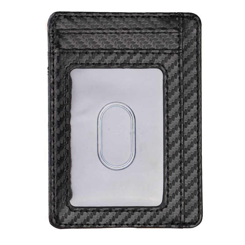 Ultra Slim RFID Blocking Minimalist Wallet Business Card Cover Case Super Thin A69C