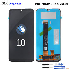 Оригинальный жк дисплей для huawei y5 2019 сенсорный экран стеклянная