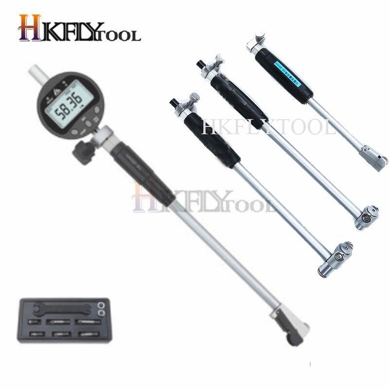 В переменного тока, 50-160 мм внутренняя Диаметр стрелочный индикатор измерительный стержень + зонд аксессуары 10 мм indicaotor внутренняя Диаметр д...