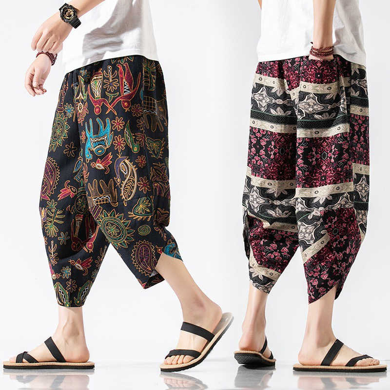 Summer Chinese mens Thailand style ethnic casual harem pants casual trousers Hot