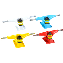 1PC 5inch Skateboard Truck with 92A Bushing for Double Rocker Maple Deck Cruiser