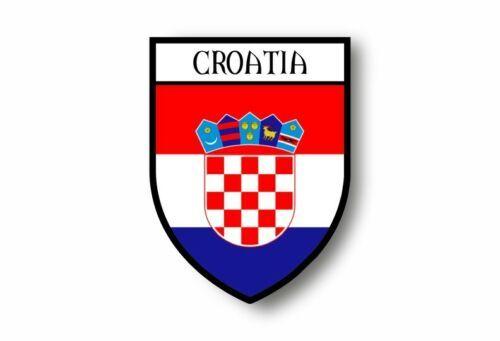 Sıcak satış etiket araba motosiklet arması şehir bayrağı hırvatistan hırvat çıkartmalar dizüstü bilgisayarlar için, ofis malzemeleri, motosiklet, araba