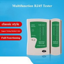 Тестер сетевого кабеля RJ45 RJ11Cat5 Cat6, тестер сетевого кабеля, детектор сетевого провода телефонной линии, набор инструментов для отслеживания