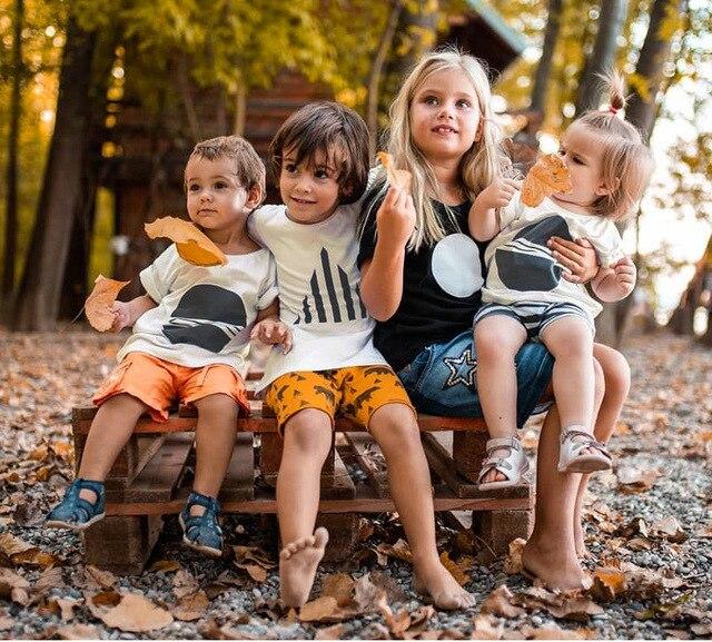 2020 di Nuovo Modo di Bambino Del Bambino Dei Bambini Dei Ragazzi di Estate T-Shirt Ragazze T Shirt A Manica Corta Per Bambini Carino Magliette e camicette Tee 1-8 anno 3
