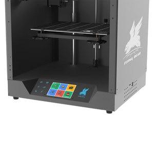 Image 5 - 最新デザインflyingbear ゴースト5フルメタルフレーム高精度diy 3dプリンタのdiyキットガラスプラットフォームwifi