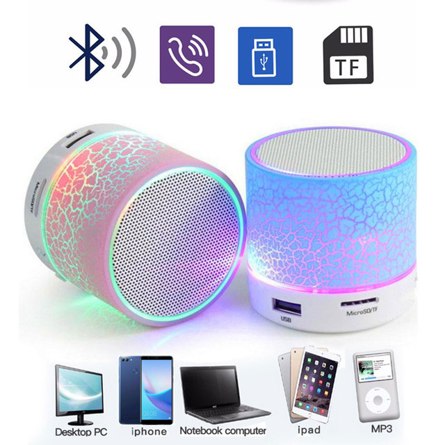 Mini Wireless Portable USB Stereo Sound Bluetooth Speakers