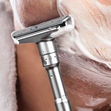 Hair-Removal Shaver-It Safety-Razor Shaving-Mild Classic Double-Edge 5-Blades Mens File