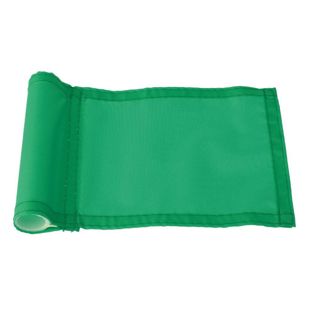3x Golf Hole Pole Cup Flag Putting Green Marker Backyard Golfer Training Aid - Green