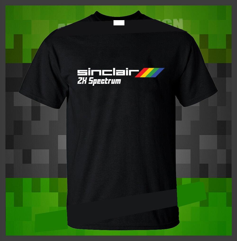 Sinclair ZX Spectrum Mens Retro T-Shirt 80/'s Video Game Atari