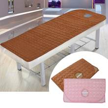 80x190 cm Schoonheid Massage Tafel Laken SPA Behandeling Bed Cover met Ronde Adem Gat Massage Ontspanning Bed vel(China)