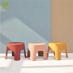 강한 6 색 두꺼운 일반 어린이 의자 거실 미끄럼 방지 목욕 벤치 어린이 의자 변경 신발 의자 어린이 가구