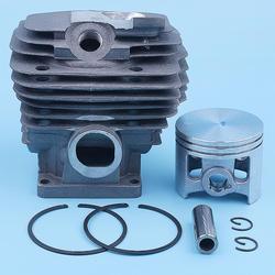 Kit de anillo de pistón de 52mm para Stihl MS461 MS 461 motosierra 1128 020 1250 piezas de repuesto recubiertas de Nikasil 12mm