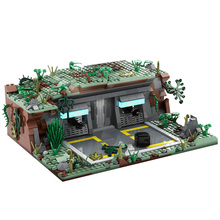 MOC-54447 Space Series Wars Base Outpost DIY Building Blocks Bricks DIY Assembly Construction Toys For Gift 1049pcs