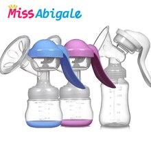 MissAbigale Молокоотсос ручной Присоска на грудь молоко кремния PP BPA бесплатно с молокоотсосом соска молокоотсосы