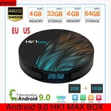 цена на HK1 MAX Set Top Box Android 9.0 Smart TV Box Media Player RK3328 TV Box Quad Core 5G WiFi 2.4G&5G Dual WIFI Bluetooth 4.1