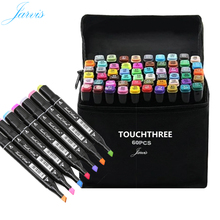 Touchthree 1pc Acylic Alcohol Art Sketching Markers for Drawing Copic Markers Set Student