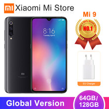 "Version mondiale Xiao mi mi 9 mi 9 6 GB/64 GB 6 GB/128 GB téléphone portable Snapdragon 855 Octa Core 6.39 ""AMOLED Display 48MP AI Triple(China)"