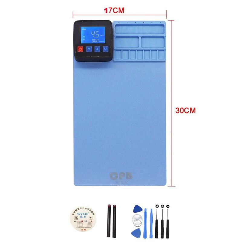 CPB Mini Heating Pad Touch Screen LCD Open Separate Machine Repair Tool Separator For IPad IPhone