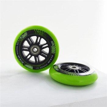 スーパー価値 84A 100 ミリメートルオリジナル肩スピードスケートホイール 100 トラックインラインスピードスケート Patines 4*100 ミリメートルシャーシ Ruedas ABEC9