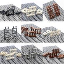 Cidade criador painel transparente limpar peças de parede da janela blocos de construção elemento casa peças castelo especialista moc tijolos brinquedo