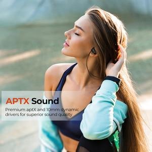 Image 2 - Mpow D9 kablosuz kulaklıklar Bluetooth 5.0 kulaklık APTX spor mikrofonlu kulaklık IPX7 su geçirmez için Huawei P30 iPhone 11