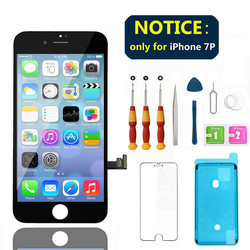 100% AAAA Original LCD Screen For iPhone 7 Screen LCD Display Digitizer Touch Replacement For iPhone 7 Plus