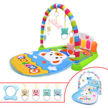 Baby Toys Carpet Piano Play-Mat Music Fitness Early-Education Infant Kid DSUE with Keyboard