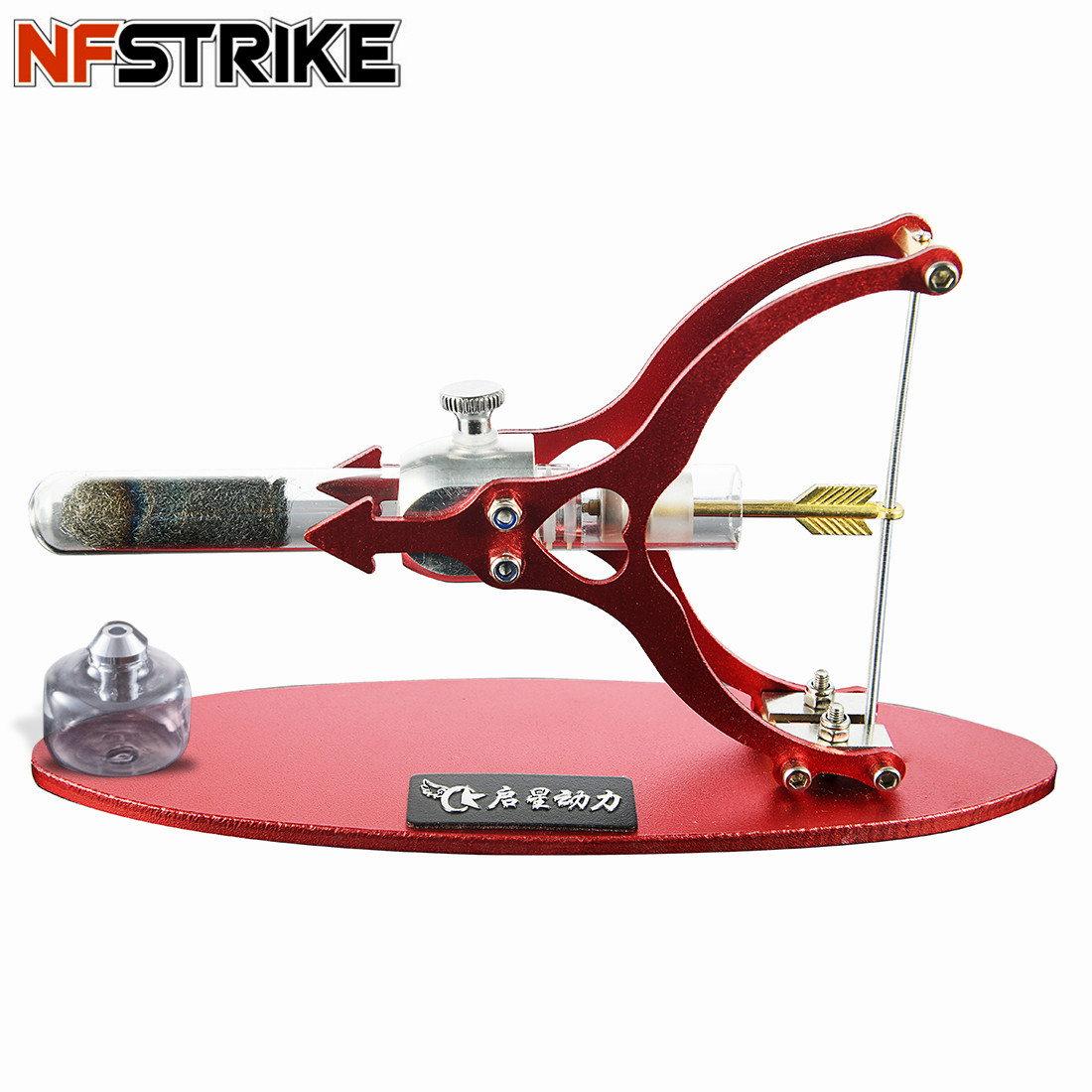 The Love Of Arrow Shape Stirling Engine Motor External Combustion Engine Science Educational Model Decoration For Kid Adult