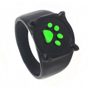 Кольца с мультяшным зеленым котом собакой когтями|Кольца для помолвки|   | АлиЭкспресс