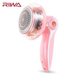 RIWA máquina de Pellets para pelusas ropa de lana cepillo de limpieza eliminador de pelusa eléctrico píldoras afeitadora recortadora de tela RF-1801