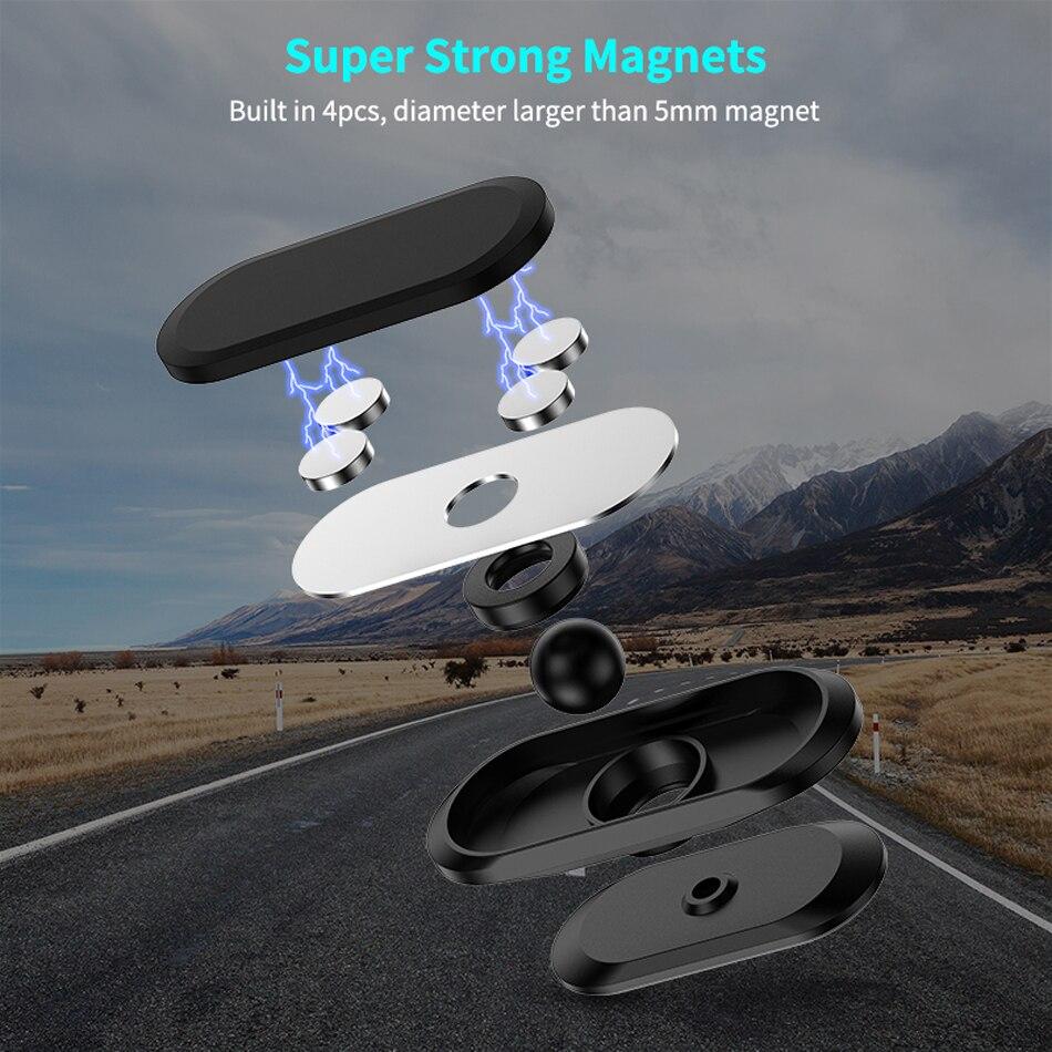 Universal Magnetic Flex Car Phone Holder