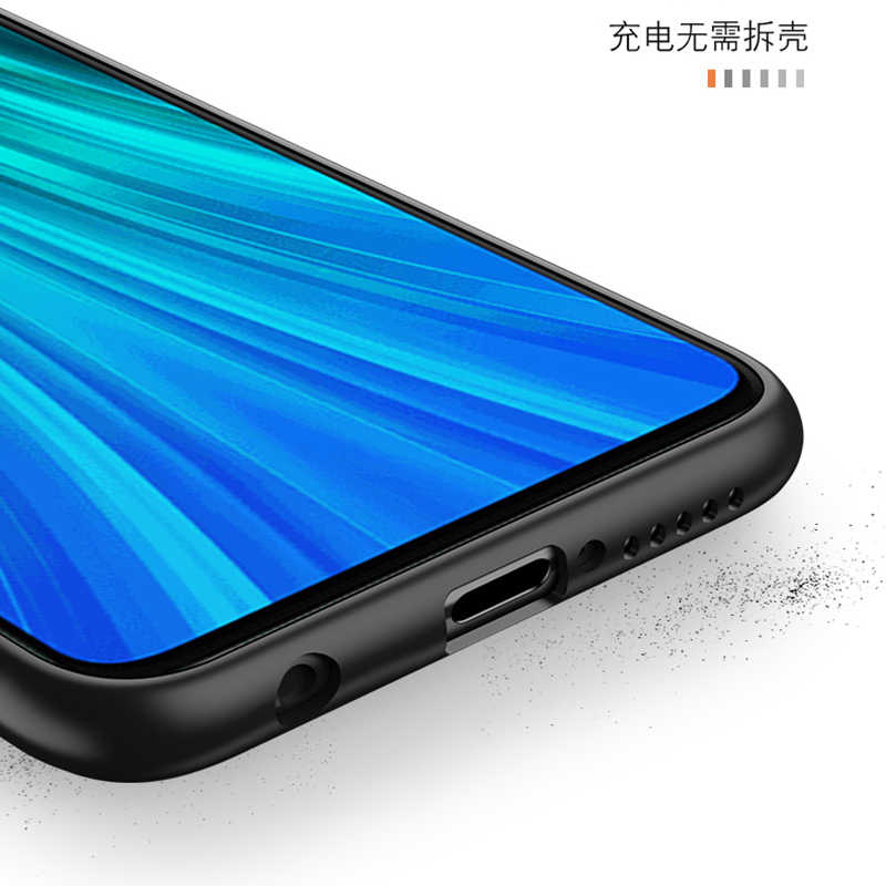 Xiaomi Redmi için not 9 9S Max telefon kılıfı Anime tek parça geri Xiaomi 8T 8 7 6 5 Pro 5A 4X 4 siyah telefon kapağı